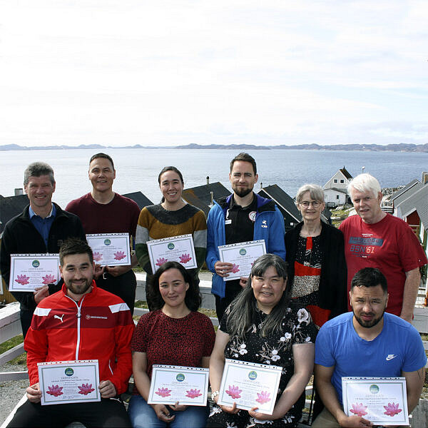 Nye coaches fra Coach Focus Nuuk